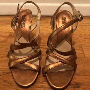 Michael Kors sandal heels sz 6